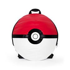 "Pokemon - 16"" Pokeball Round Ball Shape School Bag"