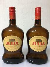 1 Bottiglia Grappa Riserva JULIA 1 Litro 40% Vol Stock Trieste