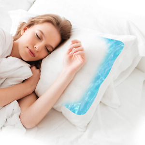 Water Pillow Waterbase Pillow for Neck Pain with Extra Quilted Pillow Microfiber
