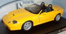 Hot Wheels 1/18 Scale - 29756 Ferrari 550 Barchetta Pininfarina - Yellow