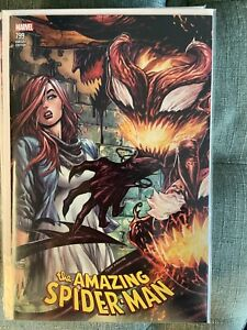 Amazing Spider-Man 799 Tyler Kirkham Exclusive Connecting Variant NM Beauty!