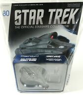 Eaglemoss Hero Collector Star Trek Federation Mission Scout Ship + Magazine #80