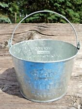 Corona Extra Beer Galvanized Tin Ice Bucket Pail With Handle Barware 3 1/2 Qt