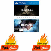 PS4 Heavy Rain & Beyond Two Souls Collection For Ps4 - Like New Not Sealed