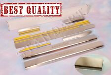 Stainless Steel Door Sill Guard Scuff Protectors fit SEAT IBIZA 6J IV  5D 2009-