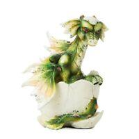 Green Dragon Hatchling Figurine New