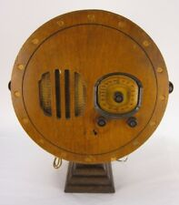 Vintage G & F Searchlight Radio - WORKING