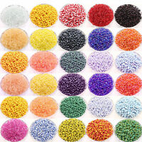 Wholesale 100 Pcs Czech Glass Round Loose Spacer Beads Jewelry Finding 4/4x3 mm
