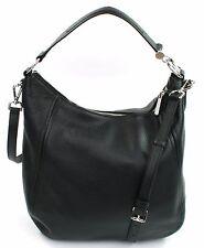 Michael Kors Leather Fulton Link Shoulder Bag Black RRP £360