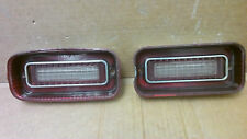 1969 Chevrolet Impala back up reverse lights pair  OEM