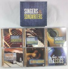 11 CD Box Set Singers & Songwriters 1970-1975 / Classics / Troubadours