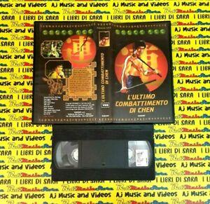 VHS Film L'ULTIMO COMBATTIMENTO DI CHEN 1998 Bruce Lee EUROSET (F148) no dvd