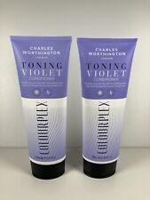 Charles Worthington London Toning Violet Conditioner Colourplex (2x 250ml)