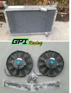 Radiator + fan for nissan 300zx fairlady z z31 2 + 2 turbo vg30 3.0l v6