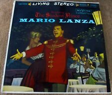 Mario Lanza Romberg The Student Prince LP RCA Living Stereo red seal M-