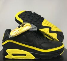 NIKE AIR MAX 90 UNDEFEATED BLACK-YELLOW MENS SZ 11.5 // WMNS SZ 13 [CJ7197-001]