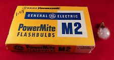 12 Westinghouse M2  m 2  Flashbulbs New Old Stock Power Mite
