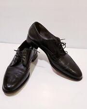 Mens E.T.WRIGHT Shoes Arch Preserver Cap- toe  Oxford Brogues Brown Sz 14 S