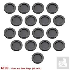 NEW FLOOR and BOOT RUBBER PLUGS for VB VC VH VK VL, GROMMETS GM CALAIS LE GMH