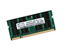 2gb Samsung NOTEBOOK/NETBOOK MEMORIA RAM ddr2 667 MHz così DIMM pc2-5300s 200p