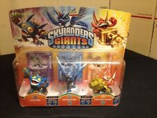 Skylanders Giants 3-Pack~NEW~Whirlwind~Trigger Happy~Pop Fizz~Series 2 Triple