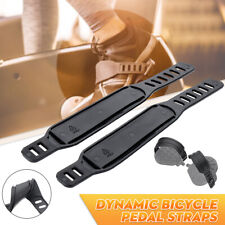 Pair New For Generic Schwinn Bike Bicycle Exercise Pedal Straps Stationary Belts