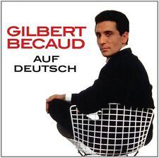 GILBERT BECAUD - AUF DEUTSCH   CD NEU