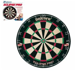Unicorn Eclipse Pro Dartboard, Dartscheibe, Bristle Board
