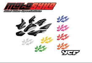 YCF Pit Bike Complete Plastic set - YCF50 - Black