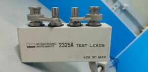 NF Electronic Instruments 2325A Test Leads