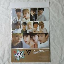 Seventeen Mini Photo Poster 10 sheets A4 K-POP Star Gift New