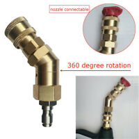 Adjustable Pressure Washer Adaptor Nozzle Connect For Karcher HD 280 Bar 4000PSI