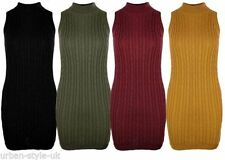 Acrylic Blend No Pattern Unbranded Regular Dresses for Women