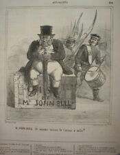 CHAR 072 CARICATURE 1863 INSURECTION POLOGNE