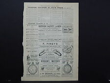 Illustrated London News Ads ONE Double-Sided Page c1888 S2#03 Cooper & Co Teas