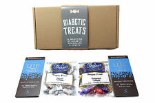 A Selection of Diabetic Friendly Treats Hamper Gift Box Chocolate FREE DELIVERY