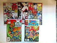 LOT of 5 X-Men Unlimited #1, 4, 5, 6, 24  1993  9.0 - 9.4  Great Marvel Set!
