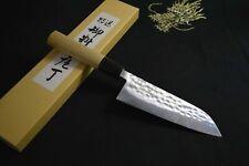 Japanese Chef knives Nihonbashi Kiya Tsuchime Hanmmered Kawamuki 145mm 1357