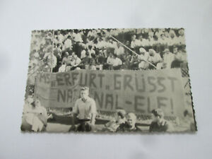 "AK 1967 Indien Hockeyspiel ""MS Erfurt grüßt NATIONALELf DDR "" Hockey lt. Foto"