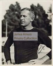 James Arness Gunsmoke Marshal Dillon Howard Jones USC Football Original 8 x 10