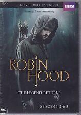 ROBIN HOOD : THE LEGEND RETURNS - SEASON 1 2 3   BOX  DVD - PAL Region 2 - New