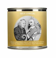 Wax Lyrical Wax Filled Festive Tin Festive Comedy Taking Santa's Place Candle