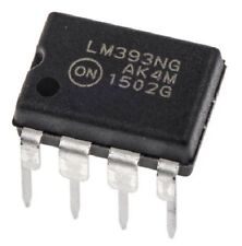 5PCS ON Semiconductor LM393 LM393NG Dual Differential Voltage Comparator New IC