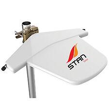 Antena TV TDT Direccional Stan 12V 230V Amplificada Caravana Filtro 4G