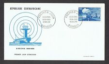 France - Republique Centrafricaine 1969 Fdc Asecna First Flight