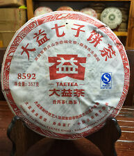 2011yr Yunnan Menghai Tea factory-DaYi 8592 Puer Cake Puerh tea 357g/Cake/Ripe