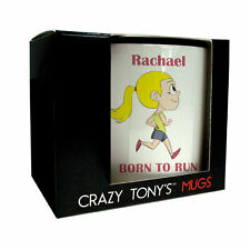 Girls Running Gifts, Ladies Running Mug, Crazy Tony's, Unique Gifts For Runners