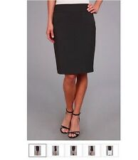 Anne Klein Charcoal Pencil Skirt, Size 4, NWT