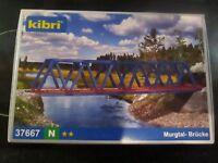 """Suitable Marklin spur z scale/gauge Kibri """"Murgtal' Box Girder Bridge."""