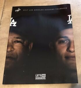 2017 Los Angeles Dodgers Yearbook National League Champions NEW shipped in a box